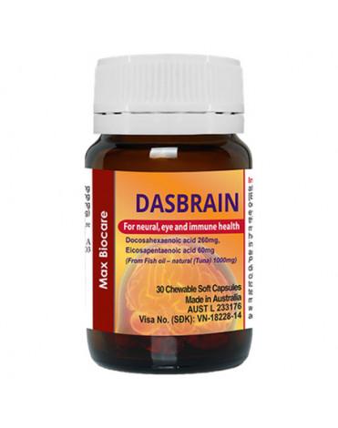 Dasbrain - Viên uống bổ não, tăng cường hệ miễn dịch