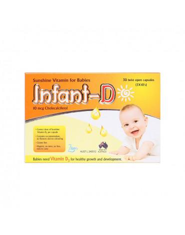 Infant-D thực phẩm bổ xung Vitamin D3 cho trẻ